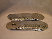 Lot Of 68 Scrap Hard Drive Disk Plates - Platinum Recovery, Crafts, Etc.