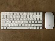 Apple Magic Keyboard 2 And Magic Mouse 2 - Wireless Bluetooth - A1644/a1657