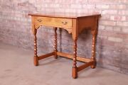 Stickley American Colonial Cherry Wood Writing Desk, 1960
