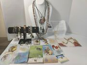 Religious Lot Rosaries Medals Bracelets Vintage To Modern New And Used