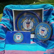 Coast Guard Clock, Sign And License Plate Gift Bundle
