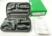 Welch Allyn 3.5v Led Macroview Otoscope Ophthalmoscope Diagnostic Set 97200-msl