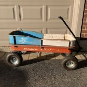Vintage Radio Flyer Radio Chief Wagon No. 22 Classic American Toy 1950and039s 1960and039s