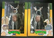 Neca Tmnt Bebop And Rocksteady In Bunny Suits Figures