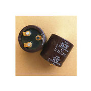 2pcs Elna For Audio 10000uf 63v Gold-plated Foot Audio Electrolytic Capacitor