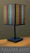 Modern Art Abstract Atomic Color Lamp Light Bright Cube Mcm Red Blue Orange