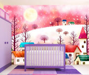 3d Snow House 19734na Wallpaper Wall Murals Removable Wallpaper Fay