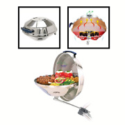 Stainless Steel Portable Tabletop Charcoal Bbq Grill For Marine And Boat Usa