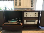 Rare The Fisher Allegro Model A19 Fm-19 Tuner X-19 Amplifier Turntable Speakers