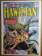 Hawkman The Brave And The Bold 42 Dc Comics Poster By Joe Kubert