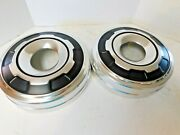 1978-84 Ford 3/4 4x4 Truck Dog Dish Hubcaps 2 E4ta-1130-aa Oem Nos