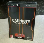 Call Of Duty Black Ops 2 Ii Hardened Editition- Ps3 - New Sealed Pal Uk