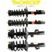 Monroe Front And Rear Set Struts Assembly For 2007-2011 Camry Se 2.5l