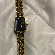 Used Premiere Ladies Watches Size L Arm Circumference 16.5 Cm Dial Black