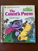 Vintage 1978 Whitman Tell A Tale The Count's Poem Sesame Street School