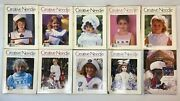Creative Needle Magazines 1988-1995 Lot Of 19 All With Insert Pattern Included