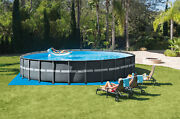 Intex 26ft X 52in Ultra Xtr Round Frame Pool Set With Sand Filter Pump Free Ship