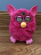 Furby Boom Hot Pink Interactive Hasbro 2012 Tested And Works