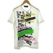 Dsquared2 19ss T-shirt Sewn Short Sleeve Cigarette Fit Katyn Brothers Fro 6-317