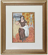 Fine Henri Matisse And039nice Franceand039 Pochoir Hand Painted Coa Not Hand Signed 1924