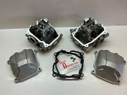 Pair Front N Rear Cylinder Head 2012 Can Am Renegade 1000 Std Xxc