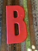Vintage Antique Metal Marquee Sign Movie Letter 10andrdquo B