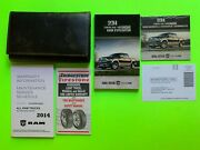 2014 Dodge Ram Trucks Owners Manual User Guide Set And Case Oem In French
