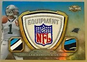 Cam Newton 2012 Topps Triple Threads Patch D 1/1 Nfl Shield 2nd Year Patriots