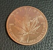 Silver Shield Cannabis 2020 Lot Of 20 1 Oz .999 Copper Round 2nd Quality