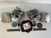 Front N Rear Cylinder Head W/ Camshaft For 2013 Can Am Renegade 1000