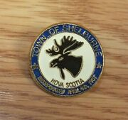 Town Of Shelburne Nova Scotia Incorporated April 4th 1907 Collectible Lapel Pin