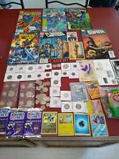 Estate Coin Lot Retail Value 100++ In Just Coins Plus Old Comics Old 🏈 Cards