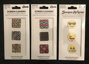 Screen Cleaners Restickable Microfiber Cloths To Clean And Decorate All Devices