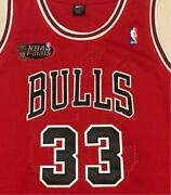 Nba Chicago Bulls Scottie Pippen 33 Nike Uniform Jersey Size 52 Color Red Used