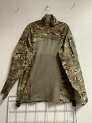 Multicam Army Combat Shirt Type Ii Acs X-large Flame Resistant 1/4 Zippered Nwot