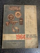 1964 Ford Car Parts And Accessories Catalog Fomoco-free Shipping