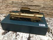 Brass Fujiyama R.f.andp. 4-8-4 Pacific Fast Mail Ho Scale Train Engine Tender 24