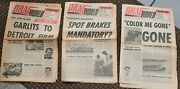 Vintage June July 1965 Drag World Lot Of Three All Volume One Ahra Drag Racing