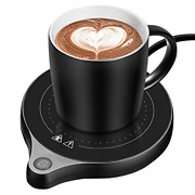 Welltop Coffee Mug Warmer, Electric Beverage Warmer With Five Temperature Up To
