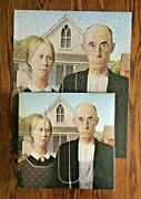 Vtg 1972 American Gothic Springbok Jigsaw Puzzle 500 Pieces Complete Grant Wood