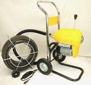 Bluerock Tools Sds200b 2 - 8 Sectional Pipe Drain Cleaning Machine Snake Clean