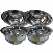 2003-2018 Dodge Ram Truck 3500 Wheel Liners Dually 17 Front/rear Hubcaps Set 4