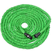 Newly 75ft Deluxe Strong Durable Rugged Flexible Garden Water Hose Turf Watering