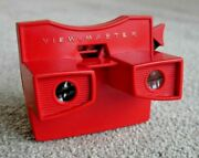 Vintage Viewmaster Red Model G 3-d Stereo Viewer 1970's Rare Working  J264