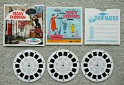 Mary Poppins Viewmaster Reels 1964 Walt Disney Set B376 Rare Complete J937