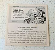 Wild Bill Hickok And Jingles 1956 Viewmaster Booklet For Reel B4731 V. Rare X182