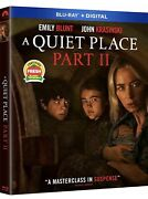 A Quiet Place Part 2blu-ray+digitalw/slipcover New Pre-order Ships 7/27/2021