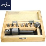 1mt Tip Live Center Set Mt1 With 7 Interchangable Tips In Wooden Box