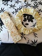Matza Looking Cover For The Steering Wheel And For The Seat Belt