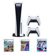 Bundle Sony Ps5 Blu-ray Edition Console - White